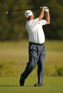 Mike Donald on the 3rd hole during the first round of the Senior PGA Championship held at Ocean Course at Kiawah Island Golf Resort in Kiawah Island, SC on May 24, 2007. 2007 Senior PGA Championship - First RoundPhoto by Mike Ehrmann/WireImage.com