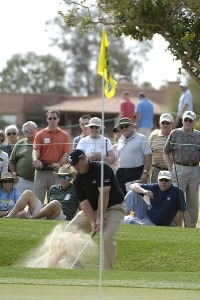 Scott Gutschewski in action during the third round of the 2006 Chrysler Classic of Tucson on Saturday, February 25, 2006 at the Omni Tucson National Golf Resort and Spa in Tucson, ArizonaPhoto by Marc Feldman/WireImage.com