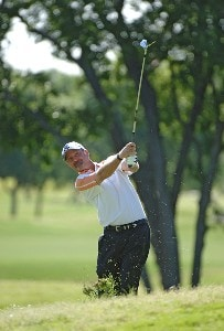 Jerry Kelly during the first round of the EDS Byron Nelson Championship held at the TPC Players Course and the Cottonwood Valley Course on Thursday, May 11, 2006 in Irving, TexasPhoto by Marc Feldman/WireImage.com