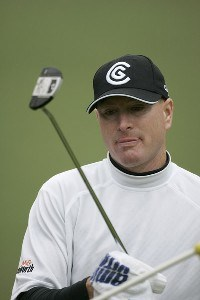 Steve Flesch during the third round of the Chrysler Classic of Greensboro at Forest Oaks Country Club in Greensboro, North Carolina on October 7, 2006. PGA TOUR - 2006 Chrysler Classic of Greensboro - Third RoundPhoto by Michael Cohen/WireImage.com