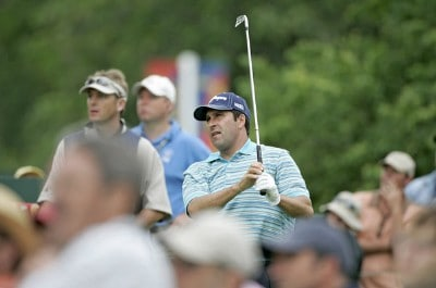 Jose Maria Olazabal during the first round of the 2006 U.S. Open Golf Championship at Winged Foot Golf Club in Mamaroneck, New York on June 15, 2006.Photo by Michael Cohen/WireImage.com
