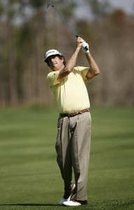 Bruce Lietzke during the second round of the ACE Group Classic held at the Quail West Country Club in Naples, Florida on Saturday, February 24, 2007. Photo by Sam Greenwood/WireImage.com