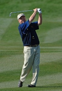 Billy Mayfair on the par three 16th  during the second round of the FBR Open at the TPC Scottsdale on Friday, February 2, 2007 in Scottsdale, Arizona PGA TOUR - 2007 FBR Open - Second RoundPhoto by Marc Feldman/WireImage.com