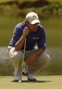 Brian Davis during  the third round of the Stanford St. Jude Chamionship at the TPC Southwind on Saturday, June 9, 2007 in Memphis, Tennessee PGA TOUR - 2007 Stanford St. Jude Championship - Third RoundPhoto by Marc Feldman/WireImage.com