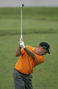 Thomas Levet during the first round of the Booz Allen Classic at TPC Avenel in Potomac, Maryland, on June 22, 2006.Photo by Hunter Martin/WireImage.com