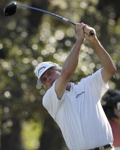 Dave Eichelberger during the first round of the AT&T Championship at Oak Hills Country Club in San Antonio, Texas, on October 20, 2006. Champions Tour - 2006 AT&T Championship - First RoundPhoto by Steve Levin/WireImage.com