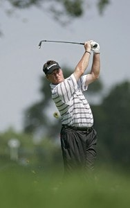 Todd Hamilton during the third round of the John Deere Classic at TPC at Deere Run in Silvis, Illinois on July 15, 2006.Photo by Michael Cohen/WireImage.com