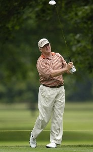 Tom Jenkins during the first round of the Commerce Bank Championship on the Red Course at Eisenhower Park in East Meadow, New York, on June 23, 2006.Photo by Steve Levin/WireImage.com