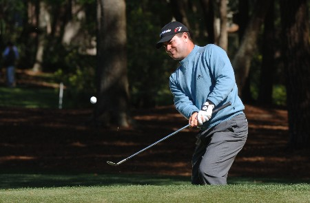 Jay Williamson  chips into the first green during the third round of the MCI Heritage at Harbour Town Golf Links at Hilton Head Island, April 16, 2005.Photo by Al Messerschmidt/WireImage.com