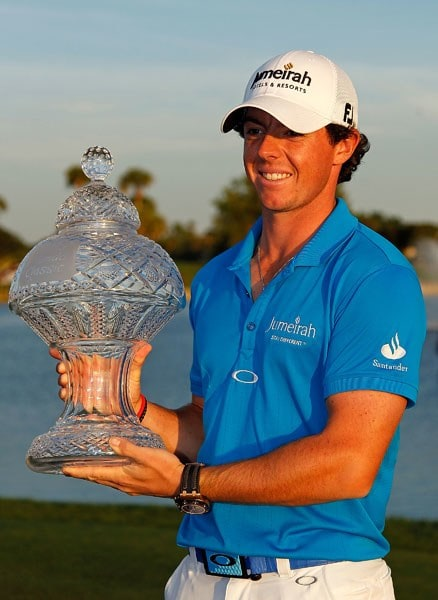 Rory McIlroy at the 2012 Honda Classic