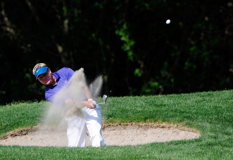 PALM HARBOR, FL - MARCH 20:  Carl Pettersson of Sweden plays a shot on the 11th hole during the second round of the Transitions Championship at the Innisbrook Resort and Golf Club on March 20, 2009 in Palm Harbor, Florida.  (Photo by Sam Greenwood/Getty Images)