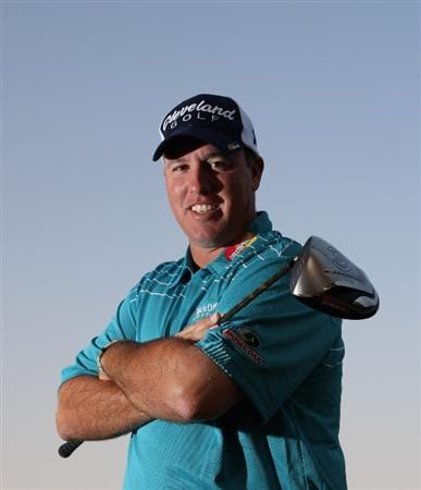 DOHA, QATAR - JANUARY 21:  Boo Weekley of the USA poses for a photograph prior to taking part in the Pro Am for the Commercialbank Qatar Masters at Doha Golf Club on January 21, 2009 in Doha, Qatar.  (Photo by Andrew Redington/Getty Images)