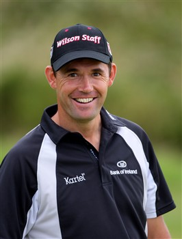 BIRKDALE, UNITED KINGDOM - JULY 14:  Padraig Harrington of Ireland during the first practice round of the 137th Open Championship on July 14, 2008 at Royal Birkdale Golf Course, England.  (Photo by Stuart Franklin/Getty Images)