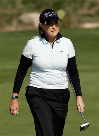 INCHEON, SOUTH KOREA - OCTOBER 29:  Cristie Kerr of United States on the 4th green during the 2010 LPGA Hana Bank Championship at Sky 72 golf club on October 29, 2010 in Incheon, South Korea.  (Photo by Chung Sung-Jun/Getty Images)