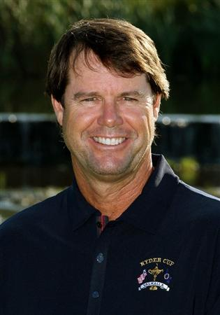LOUISVILLE, KY - SEPTEMBER 17:  USA team captain Paul Azinger poses for a portrait during the USA team photo shoot prior to the 2008 Ryder Cup at Valhalla Golf Club on September 17, 2008 in Louisville, Kentucky.  (Photo by David Cannon/Getty Images)
