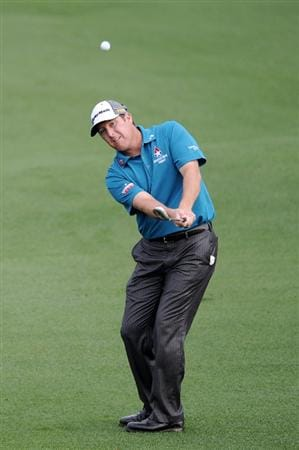 AUGUSTA, GA - APRIL 08:  D.A. Points hits his third shot on the second hole during the second round of the 2011 Masters Tournament at Augusta National Golf Club on April 8, 2011 in Augusta, Georgia.  (Photo by Harry How/Getty Images)
