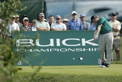 J.J. Henry during the third round of the Buick Championship held at TPC River Highlands in Cromwell, Connecticut, on July 1, 2006.Photo by Jim Rogash/WireImage.com