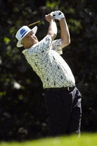 SILVIS, IL - JULY 12:  Kirk Triplett during the first round of The John Deere Classic at the TPC Deere Run on July 12, 2007 in Silvis, Illinois.  (Photo by Marc Feldman/WireImage) *** Local Caption *** Zach Johnson PGA - John Deere Classic - First RoundPhoto by Marc Feldman/WireImage) *** Local Caption *** Zach Johnson