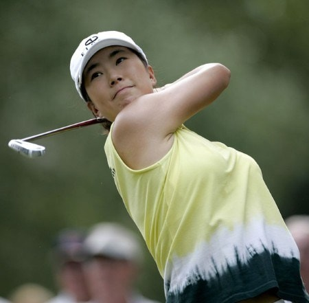 Jeong Jang during the third round of the 2005 John Q. Hammons Hotel Classic on Sunday, September 18, held at Cedar Ridge Country Club in Tulsa, Oklahoma.Photo by Sam Greenwood/WireImage.com