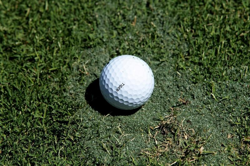 MELBOURNE, AUSTRALIA - NOVEMBER 11:  The ball of Tiger Woods of the USA comes to rest on the 17th hole during the Pro-Am ahead of the 2009 Australian Masters at Kingston Heath Golf Club on November 11, 2009 in Melbourne, Australia.  (Photo by Robert Cianflone/Getty Images)