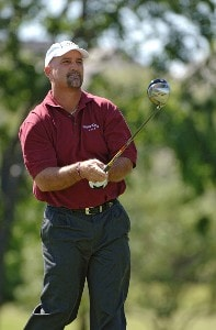 Marco Dawson during the first round of the EDS Byron Nelson Championship held at the TPC Players Course and the Cottonwood Valley Course on Thursday, May 11, 2006 in Irving, TexasPhoto by Marc Feldman/WireImage.com
