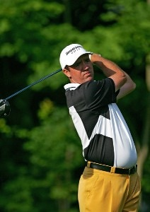 Scott Hend during practice for the 2006 U.S. Open Golf Championship held at Winged Foot Golf Club in Mamaroneck, New York on June 14, 2006