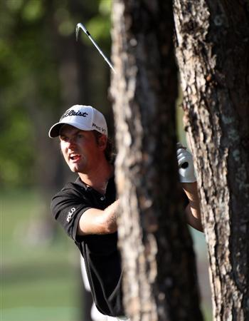 PALM HARBOR, FL - MARCH 18:  Webb Simpson plays a shot on the 16th hole during the second round of the Transitions Championship at Innisbrook Resort and Golf Club on March 18, 2011 in Palm Harbor, Florida.  (Photo by Sam Greenwood/Getty Images)