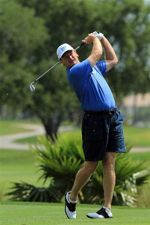 WEST PALM BEACH, FL - MARCH 21:  Ernie Els of South Africa during the Els for Autism Pro-am at The PGA National Golf Club on March 21, 2011 in West Palm Beach, Florida.  (Photo by David Cannon/Getty Images)