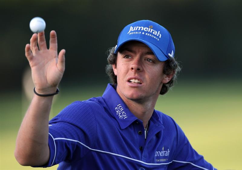 PALM BEACH GARDENS, FL - MARCH 03:  Rory McIlroy of England catches a ball prior to the first round of The Honda Classic at PGA National Resort and Spa on March 3, 2011 in Palm Beach Gardens, Florida.  (Photo by Sam Greenwood/Getty Images)