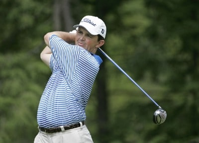 Greg Chalmers competes in the second round of the B.C. Open held on the Atunyote course at Turning Stone Resort in Vernon, New York, on July 21, 2006.Photo by: Chris Condon/PGA TOUR