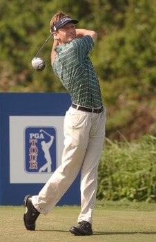 Brad Faxon in action during the final round of the PGA TOUR's 2006 Mercedes Championships at The Plantation At Kapalua, in Kapalua Maui, Hawawii January 8, 2006Photo by Steve Grayson/WireImage.com