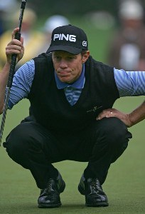 Nick O'Hern during the third round of the 2006 Masters at the Augusta National Golf Club in Augusta, Georgia on April 8, 2006.Photo by Sam Greenwood/WireImage.com
