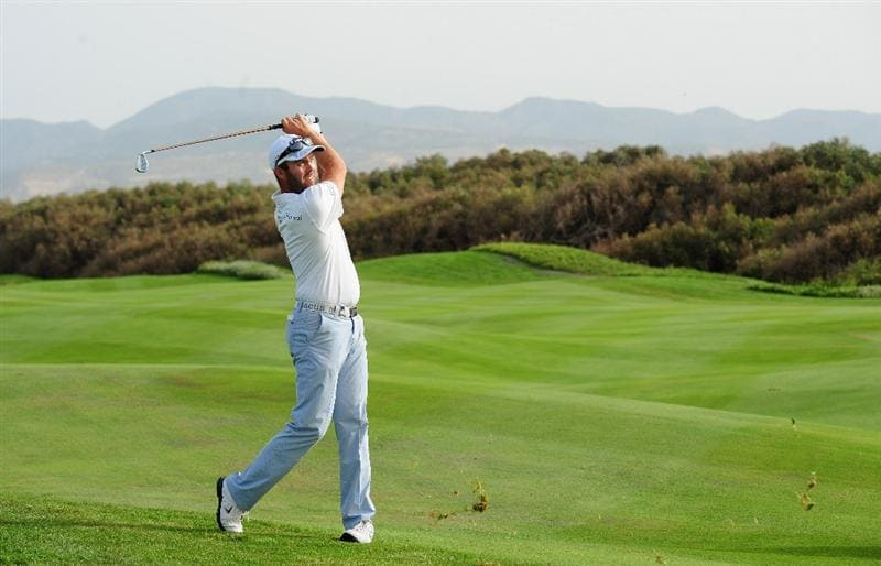 AGADIR, MOROCCO - APRIL 02:  Christian Nilsson of Sweden plays a shot during the third round of the Trophee du Hassan II Golf at the Golf du Palais Royal on April 1, 2011 in Agadir, Morocco.  (Photo by Stuart Franklin/Getty Images)