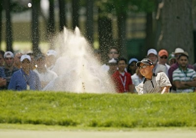 Toru Taniguchi during the first round of the 2006 U.S. Open Golf Championship at Winged Foot Golf Club in Mamaroneck, New York on June 15, 2006.Photo by Mike Ehrmann/WireImage.com