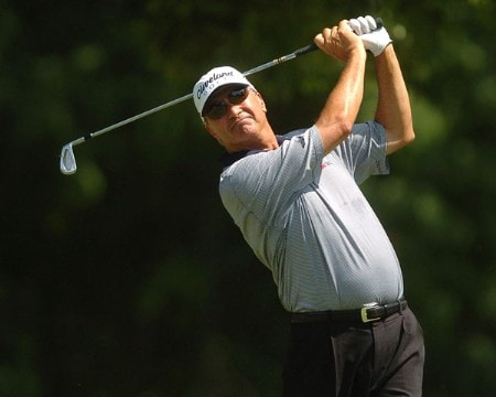 Don Pooley in action during the first round of the 2005 U.S. Senior Open Championship at NCR Country Club, July 28, 2005 in Kettering, Ohio.Photo by Steve Grayson/WireImage.com
