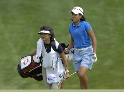 Julieta Granada during the first round of  the Canadian Women's Open at the London Hunt and Country Club in London, Ontario on August 10, 2006.Photo by Steve Levin/WireImage.com