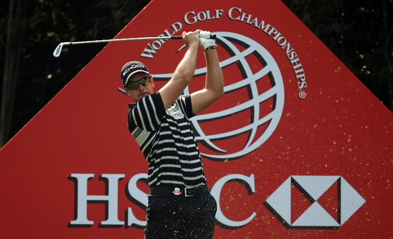 SHANGHAI, CHINA - NOVEMBER 04:  Henrik Stenson of Sweden during the first round of the WGC - HSBC Champions at Sheshan International Golf Club on November 4, 2010 in Shanghai, China.  (Photo by Ross Kinnaird/Getty Images)