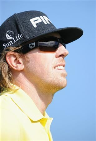 PEBBLE BEACH, CA - FEBRUARY 13:  Hunter Mahan looks on during the final round of the AT&T Pebble Beach National Pro-Am at Pebble Beach Golf Links on February 13, 2011  in Pebble Beach, California.  (Photo by Stuart Franklin/Getty Images)