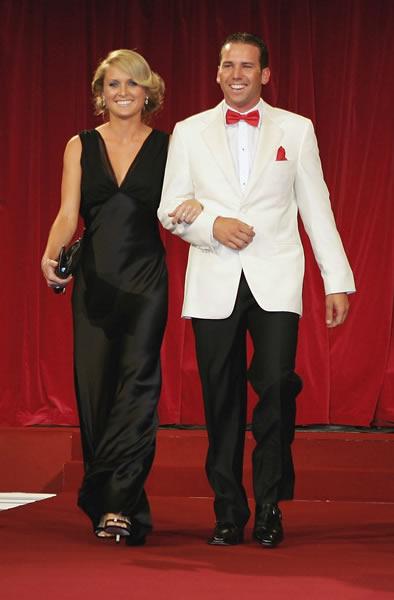 Sergio Garcia and Morgan Leigh Norman