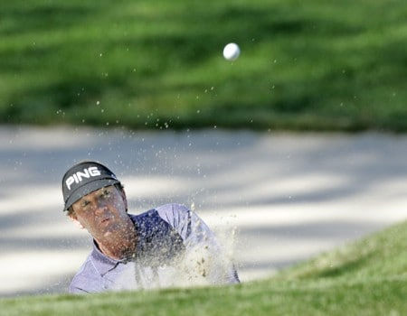 Bob Gilder in action during the third round at the FORD Senior Players Championship, July 9,2005, held at  the TPC of Michigan, Dearborn, Michigan.Photo by Stan Badz/PGA TOUR/WireImage.com