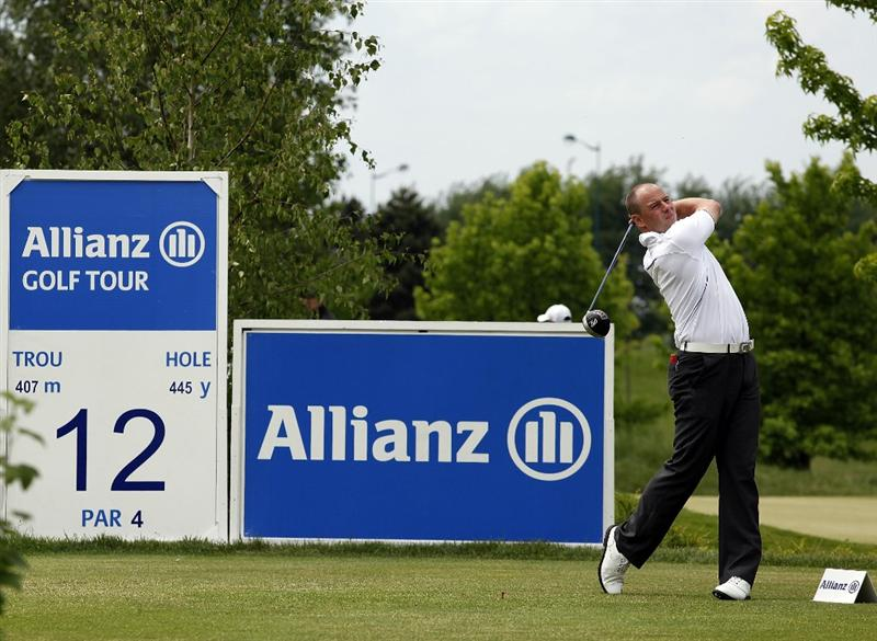 PARIS, FRANCE - MAY 08:  Craig Lee of Scotland in action during the final round of the Allianz Challenge de France played at Golf Disneyland at Disneyland Paris on May 8, 2011 in Paris, France.  (Photo by Phil Inglis/Getty Images)