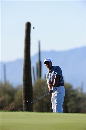 MARANA, AZ - FEBRUARY 16:  Paul Casey of England during the second practice round prior to the start of the Accenture Match Play Championship at the Ritz-Carlton Golf Club on February 16, 2010 in Marana, Arizona.  (Photo by Stuart Franklin/Getty Images)