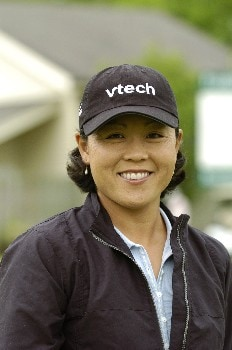 Kim Saiki competes  April 29 in  the rain-delayed second round of the 2005 Franklin American Mortgage Championship in Franklin, Tn.Photo by Al Messerschmidt/WireImage.com