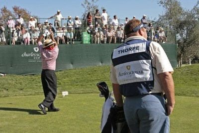 Jim Thorpe during the fourth and final round of the Charles Schwab Cup Championship held at Sonoma Golf Club in Sonoma, California, on October 29, 2006. Photo by: Chris Condon/PGA TOURPhoto by: Chris Condon/PGA TOUR