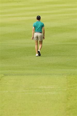 CHON BURI, THAILAND - FEBRUARY 18:  Lorena Ochoa of Mexico walks along the the 17th hole during round one of the Honda LPGA Thailand at Siam Country Club Plantation on February 18, 2010 in Chonburi, Thailand.  (Photo by Victor Fraile/Getty Images)