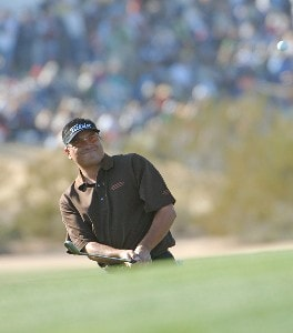 Robert Gamez during the second round of the FBR Open at the TPC Scottsdale on Friday, February 2, 2007 in Scottsdale, Arizona PGA TOUR - 2007 FBR Open - Second RoundPhoto by Marc Feldman/WireImage.com