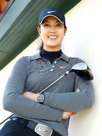 RICHMOND, TX - NOVEMBER 18:  Michelle Wie poses for a portrait prior to the start of The LPGA Tour Championship presented by Rolex at the Houstonian Golf and Country Club on November 18, 2009 in Richmond, Texas.  (Photo by Scott Halleran/Getty Images for LPGA)