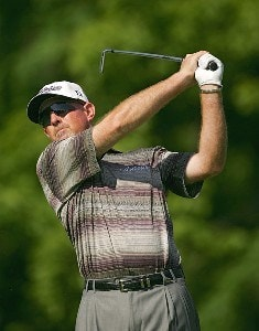 Frank Lickliter II during the first round the 2006 Wachovia Championship at the Quail Hollow Club in Charlotte, North Carolina on May 4, 2006.Photo by Sam Greenwood/WireImage.com
