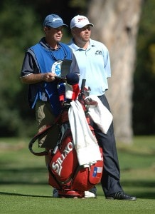 John Rollins in action during the final round of 2006 Nissan Open Presented by Countrywide at Riviera Country Club in Pacific Palisades, California February 19, 2006.Photo by Steve Grayson/WireImage.com