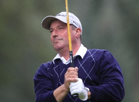 HEXHAM, UNITED KINGDOM - AUGUST 22:  Bill McColl of Scotland plays on the 13th hole during the second round of The DeVere Collection PGA Seniors Championship played at The Hunting Course, Slaley Hall on August 22, 2008 in Hexham, Northumberland, England.  (Photo by Phil Inglis/Getty Images)